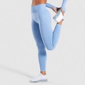 Gymshark Vital Seamless High Waisted Leggings Blue